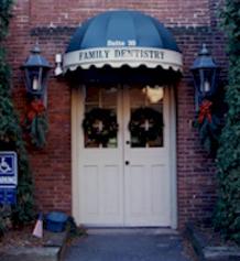 front doors of john cooper's family dentistry